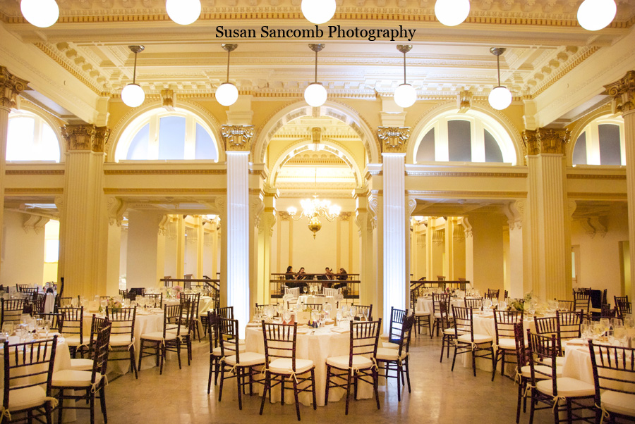 Chris Stephanie S Gorgeous Wedding At The Providence Public Library Rhode Island Photographer Sancomb Photography