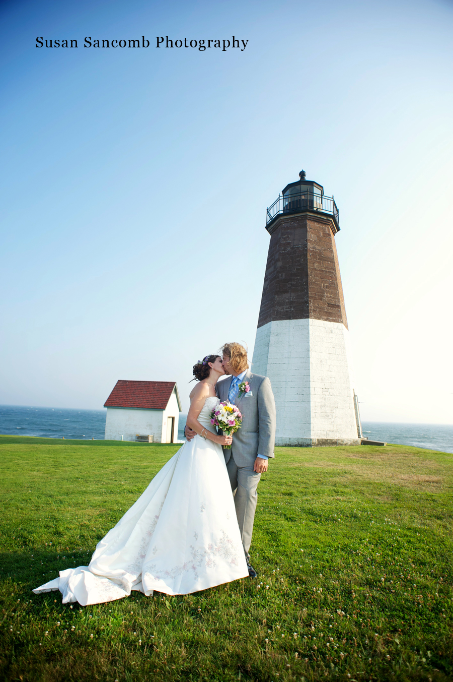 Keeping It Coastal Narragansett Rhode Island Wedding Photographer Sancomb Photography