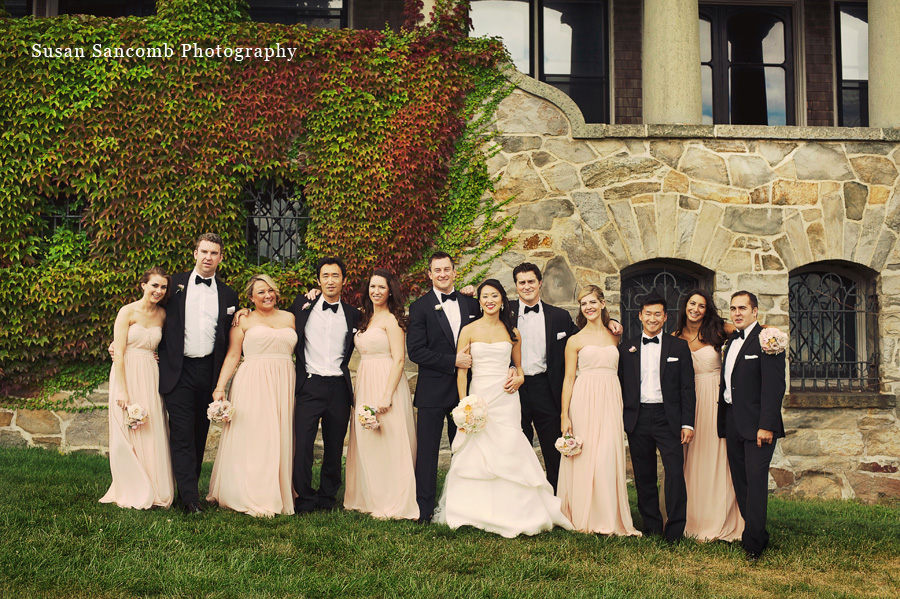 Nick Stephanies August Wedding at Aldrich Mansion Warwick