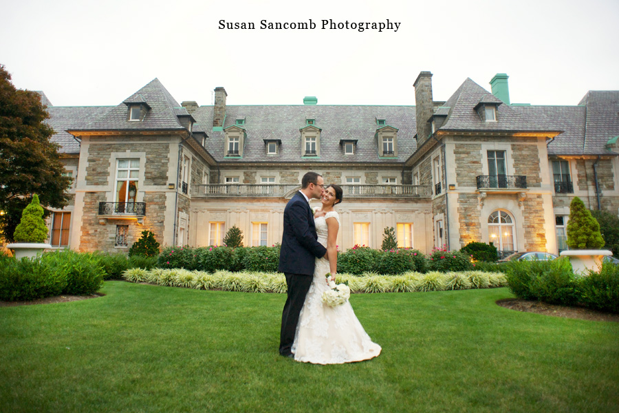Gianna Nikolaus Wedding At Aldrich Mansion Rhode Island Photographer Sancomb Photography